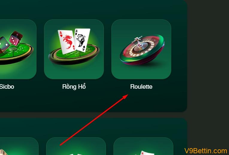 Cách chơi Roulette V9Bet