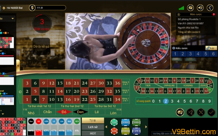 V9bet Roulette