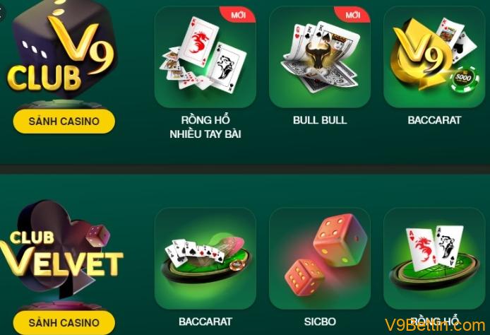 chơi Bull Bull tại V9Bet