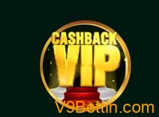 """Khuyến mãi """"Siêu to khổng lồ"""" hoàn trả cược VIP tại nhà cái V9bet"""