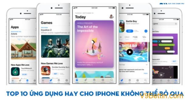 Top 10 ứng dụng hay cho iPhone không thể bỏ qua