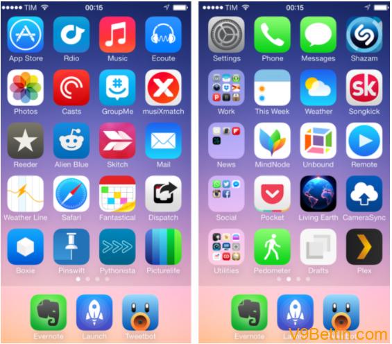 Những app quan trọng trong iPhone