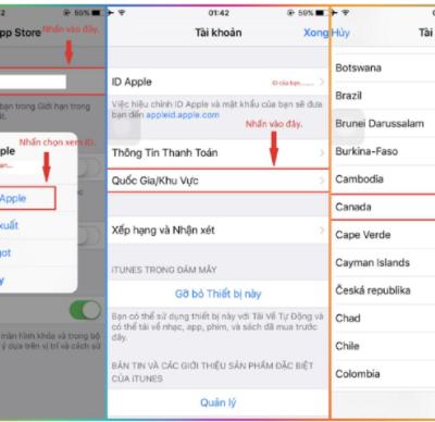 Hướng dẫn cách chuyển vùng Appstore để tải ứng dụng hiệu quả