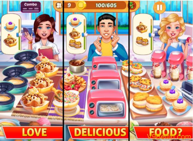 Game dành cho ai quan tâm nấu ăn