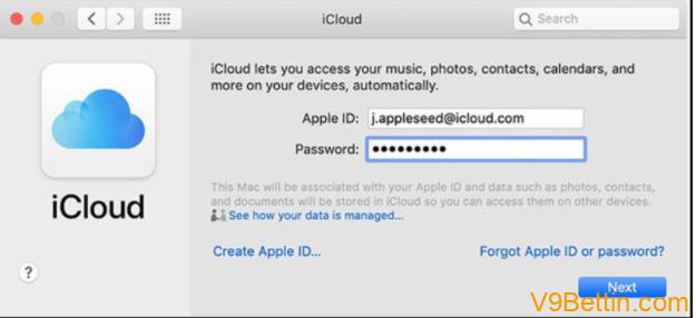 Hướng dẫn đăng ký tài khoản iCloud với những thiết bị iOS